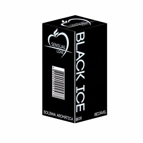 bolinha beijável black ice 02 un. sensual love