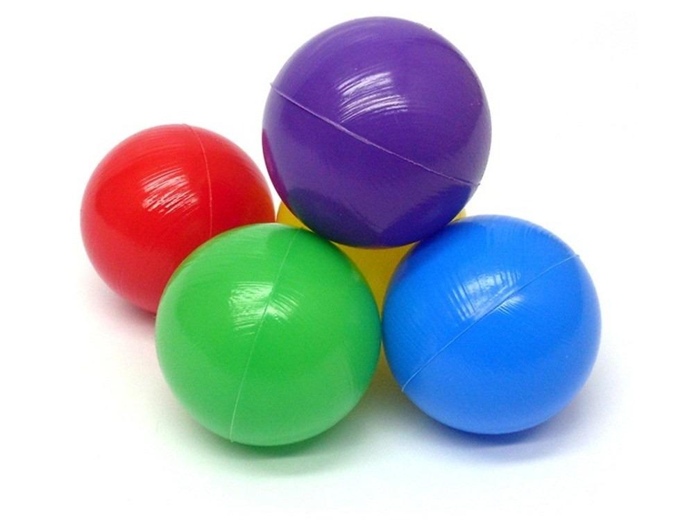 Bolinha de piscina para piscina de bolinhas caixa com 100 for Piscinas de bolas para bebes