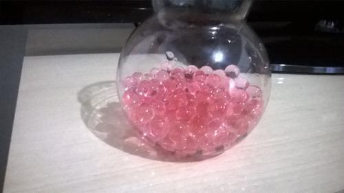 bolinha gel festa vaso planta cresce na água orbeez 1000 bol