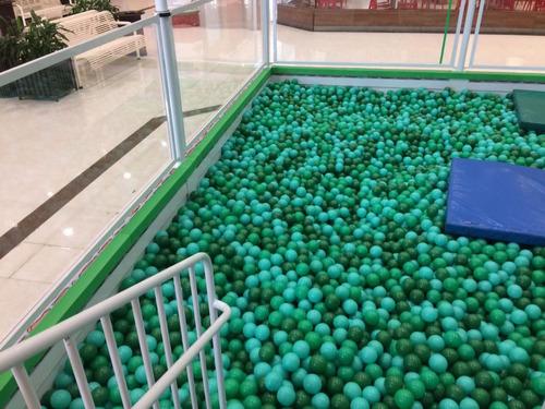 bolinha para piscina 76mm saco c/ 500 comprar 1 pct por vez