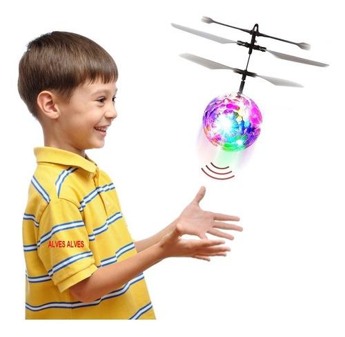 bolinha voadora mini drone led recarregável super promoção