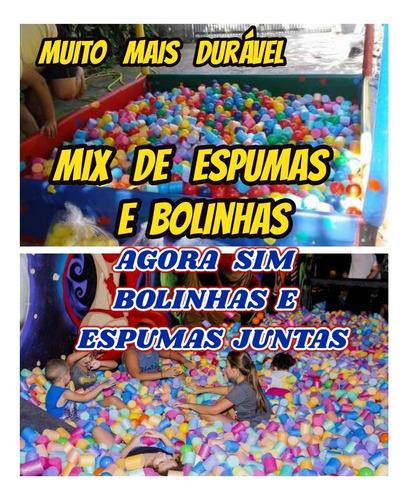 bolinhas 500+500 espumas para piscina de bolinhas+++++brinde