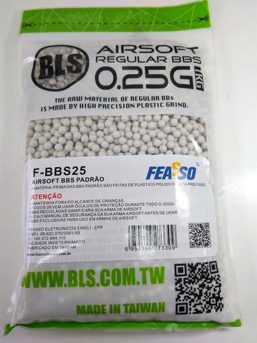 ab4ce7aa2 Bolinhas Bbs 0,25g Bls Airsoft 4000unid - Pronta Entrega - R$ 72,95 ...