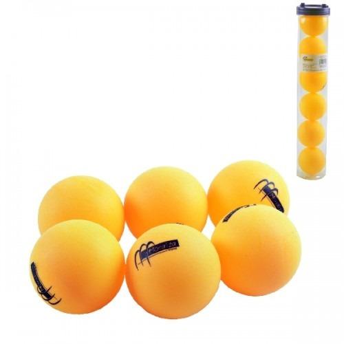 2018a184a Bolinhas De Ping Pong Bolas Tenis De Mesa Com 6 No Tubo - R  15