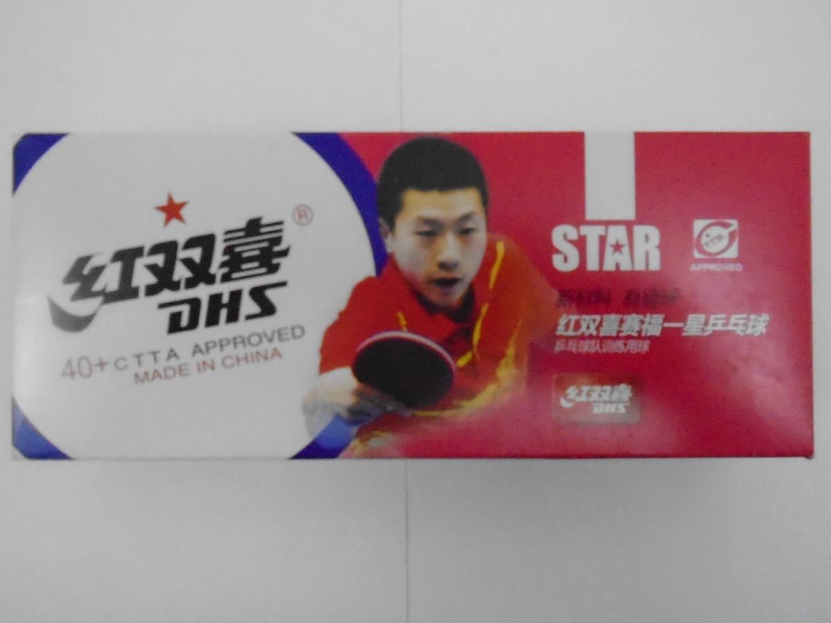 c977ec8cf bolinhas dhs 10 bolas plastico 40+ para raquete tenis d mesa. Carregando  zoom.