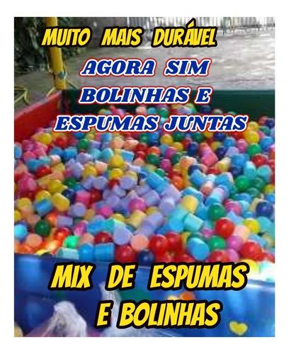 bolinhas +espuma para piscina de bolinhas kit com 500 oferta
