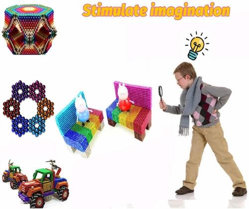 bolitas mágicas magnéticas de juguete 3 mm 216 piezas