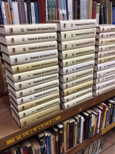 bolivar, memorias del general o' leary, obra completa 34 tms
