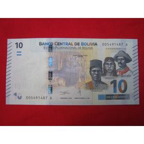 Bolivia 10 Bolivianos 2018 Unc