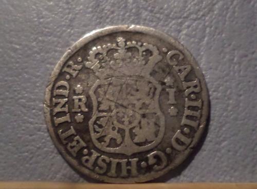 bolivia potosi argentina 1 real 1767 p.r  b