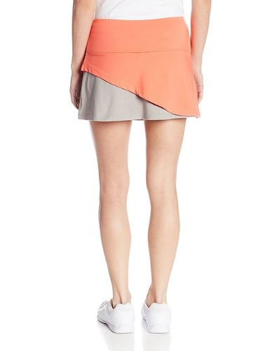boll © mujer falda de tenis de color salvaje   | deportes