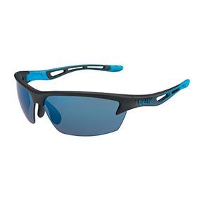 77d06bee1c Bolle Bolt Gafas De Sol, Negro Mate / Rosa Azul Oleo Af
