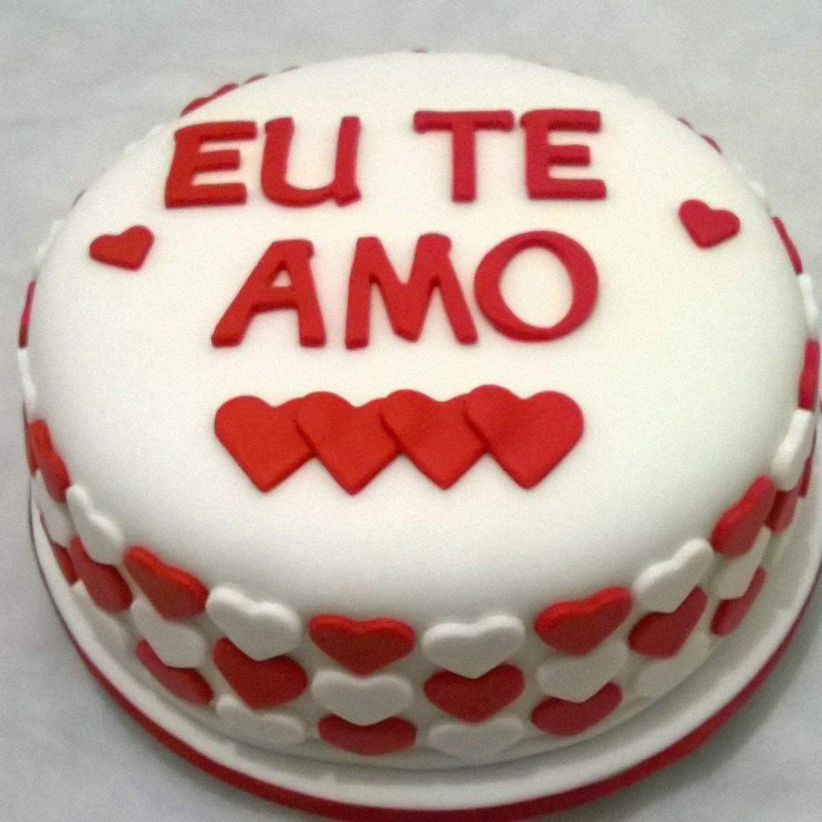 Bolo Aniversário Love 3 Kg Até 30 Pessoas R 29900 Em Mercado Livre