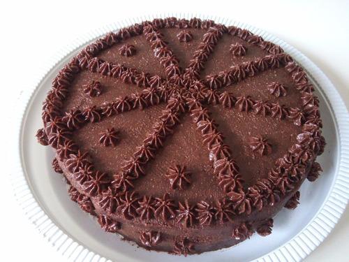 bolo de chocolate vegano 1kg aniversário evento festa