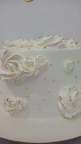 bolo decorado 10 pesoas