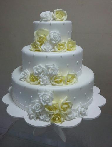 bolo fake eva casamento rosa branco vermelho lilás azul