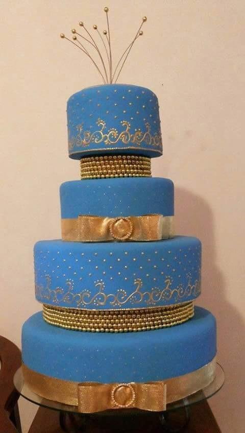 Bolo falso azul e dourado 15 anos lindo preo de venda r 160 bolo falso azul e dourado 15 anos lindo preo de venda r 16000 em mercado livre thecheapjerseys Choice Image