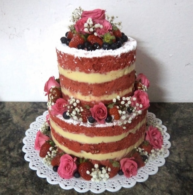 sposabella: NAKED CAKE OU BOLO PELADO