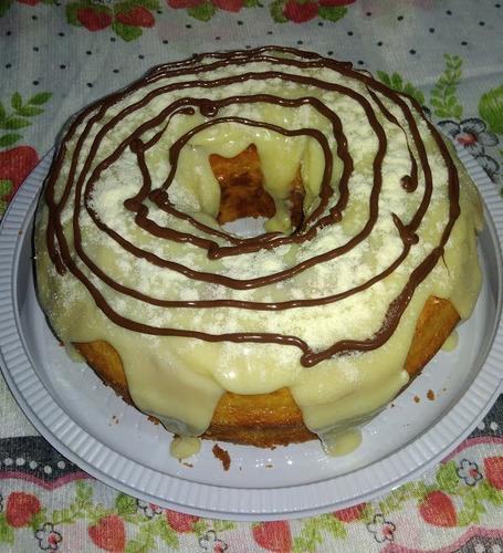 bolos caseiros sobre encomendas diversos sabores