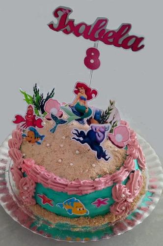 bolos de aniversários e festas decorados