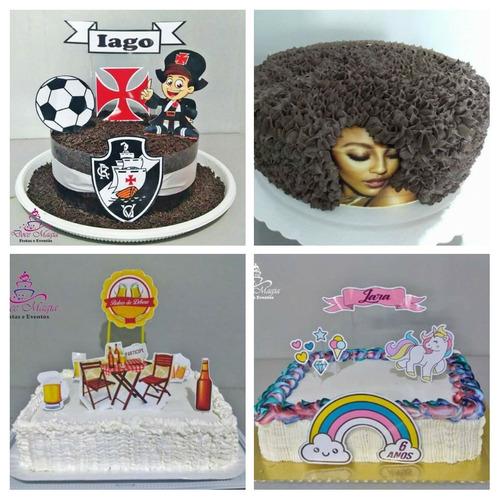 bolos, doces e balões!