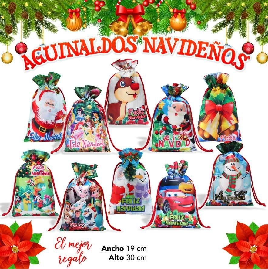 Bolos Dulceros Feliz Navidad Aguinaldos Posadas