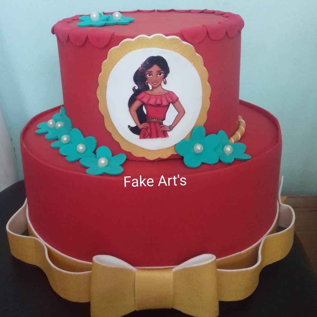 Elena Of Avalor Cake Ideas