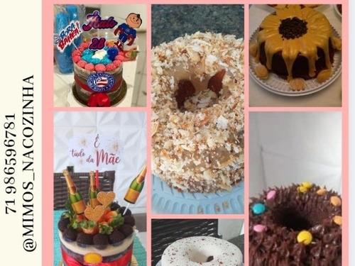 bolos temático e bolos caseiros