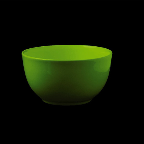 bols olmos® 500 cc. 14 cm. verde manzana línea aquarella