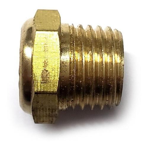 bolsa 10 pzas silenciador neumático plano 1/4  npt