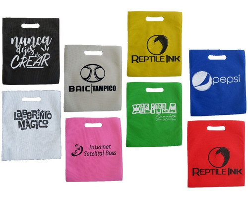 bolsa 30*35 tipo boutique ecologica non woven. personalizada