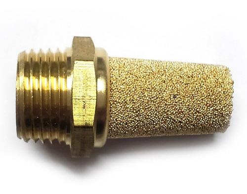 bolsa 5 pzas silenciador neumático en pino 3/8  npt