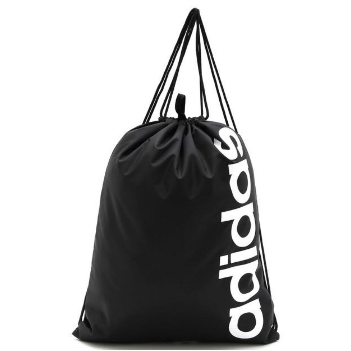 15fae7394 Bolsa adidas Gym Bag Linear Core - Preto - R$ 69,90 em Mercado Livre