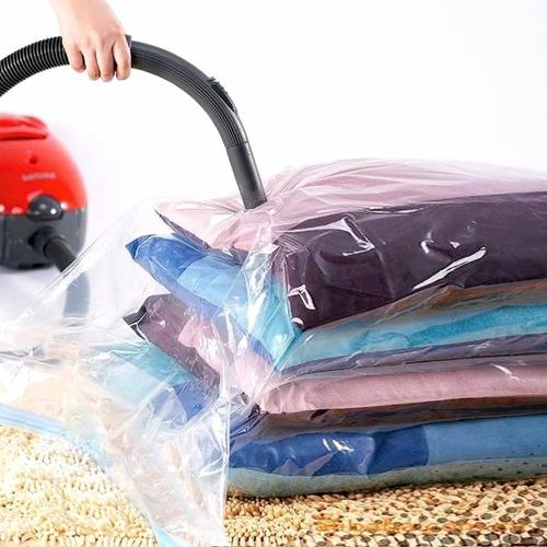 bolsa al vacio comprimir ropa ahorra espacio 70cm x 110cm