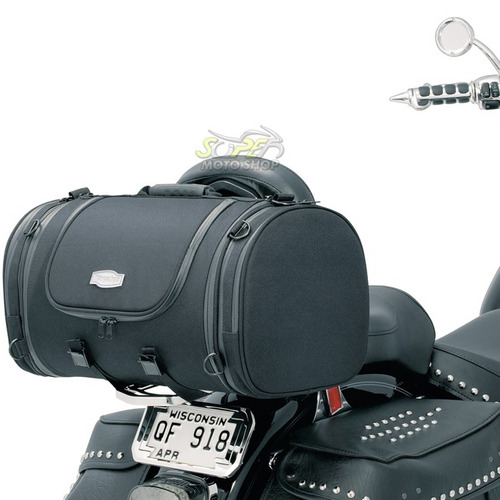 bolsa alforge kuryakyn p/ moto - classic tour bag 37 litros