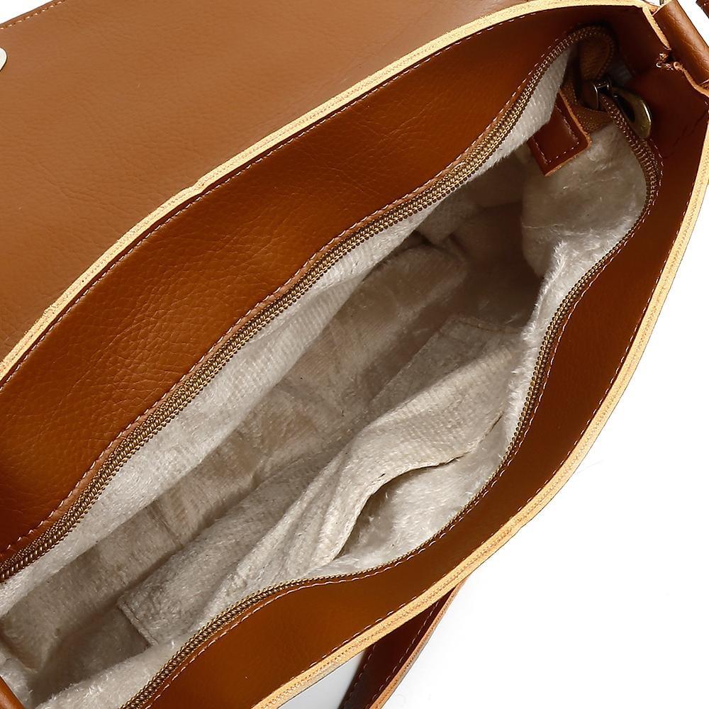 1b55bf826 Bolsa Alice Monteiro Detalhes Em Metal Caramelo - R$ 119,99 em ...