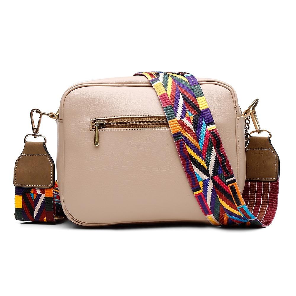 4b0a878d8 bolsa alice monteiro transversal com metais e alça colorida. Carregando  zoom.