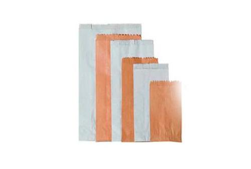 bolsa americana de papel kraft no.2  paq. x 1000un.