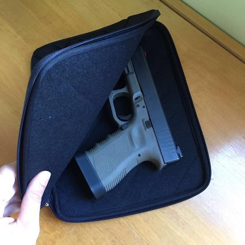bolsa anti-choque em neoprene para transporte de armas