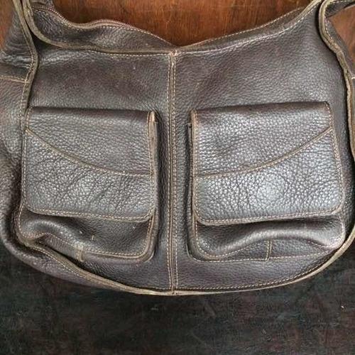 bolsa antiga couro original