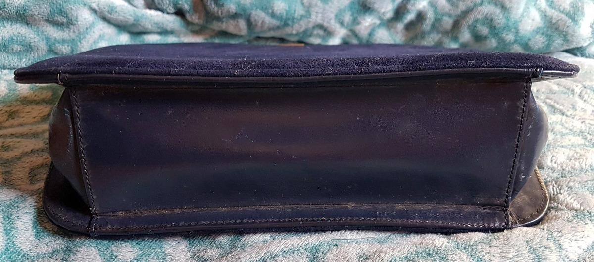 9c2c38a84 bolsa antiga vintage cristian dior original camurça azul. Carregando zoom.