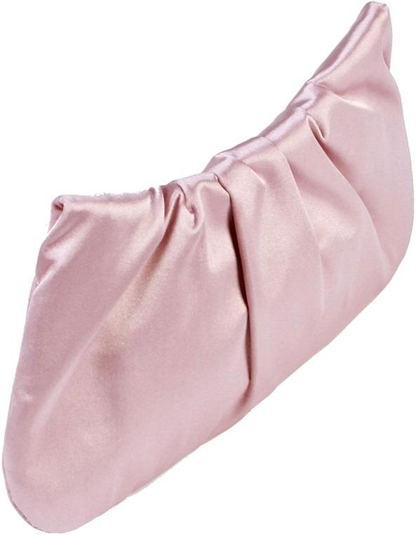 Bolsa De Mão Arezzo : Bolsa arezzo clutch rosa m?o cetim strass original nova