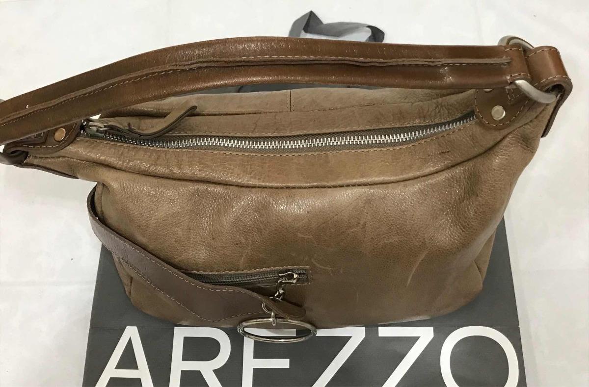 32aa0bd8a1 Bolsa Arezzo Original - Couro Legítimo Caramelo - R  179