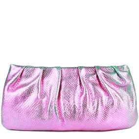 9a5f3fd94 Bolsa Clutch Arezzo Nova De $898 Em Leilão - Bolsas Femininas Rosa ...