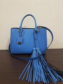 5f93ab62a Bolsa De Couro Arezzo Azul Marinho - Calçados, Roupas e Bolsas no ...