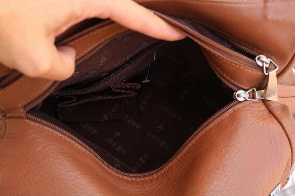 620a52471d bolsa arezzo original - couro legítimo caramelo. Carregando zoom.
