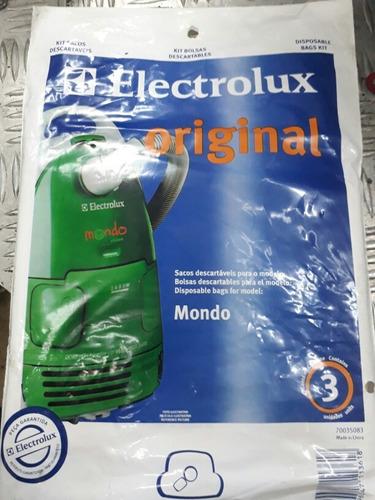 bolsa aspiradora electrolux mondo. somos tienda