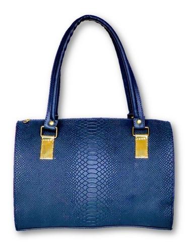 bolsa azul obscuro para mujer