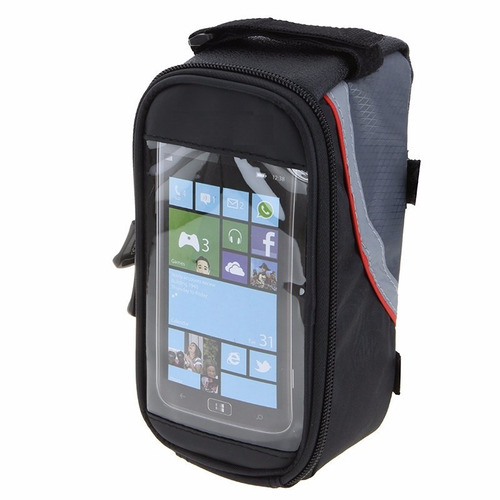bolsa bag case bike celular iphone portaobjetos tam m 4.8