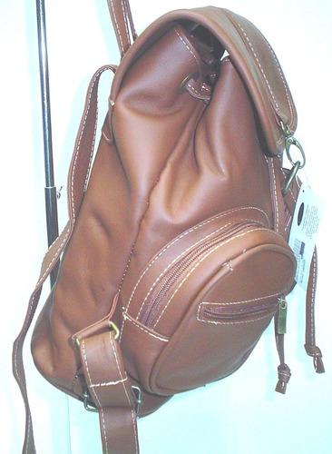 bolsa bag pack 21 cas piel vacuno kuerissimo